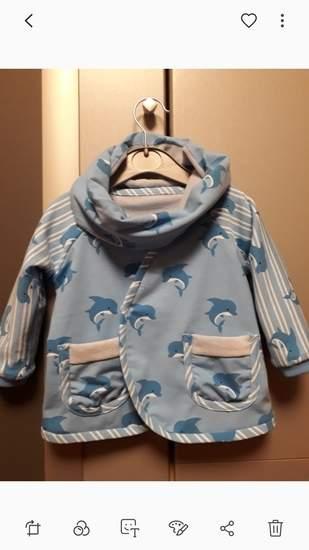 Makerist - Jacke mit Loop aus Jersey für meinen kleinen Enkel  - 1