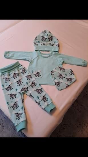 Makerist - Komplettes Set aus Jersey für meinen kleinen Enkel  - 1