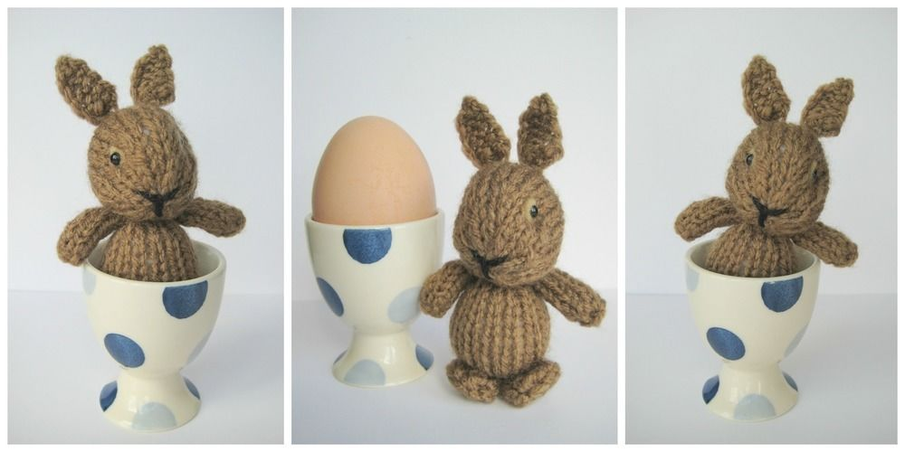 Makerist - Egg Cup Bunny - Knitting Showcase - 3