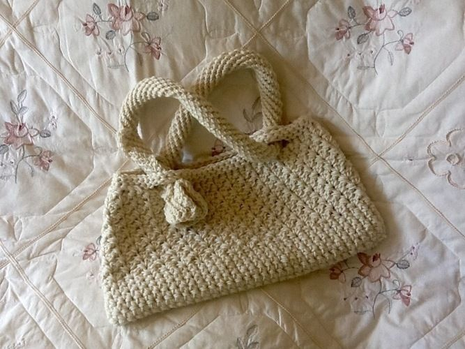 Makerist - French Alps Inspired Tote Bag - Crochet Showcase - 1