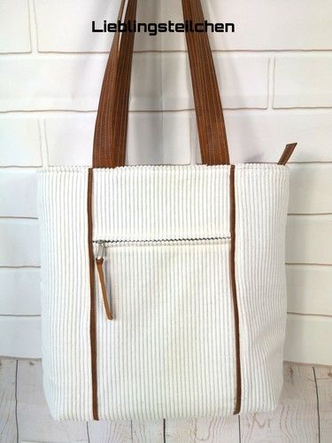 Makerist - Taniia Bag von Unikati.Jede.Naht.ein.Unikat. Genäht ist sie aus Breitcord 😊 - Nähprojekte - 2