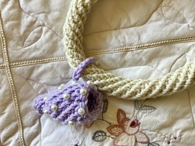 Makerist - Pisces Fiber Art Necklace - Crochet Showcase - 1