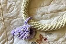 Makerist - Pisces Fiber Art Necklace - 1