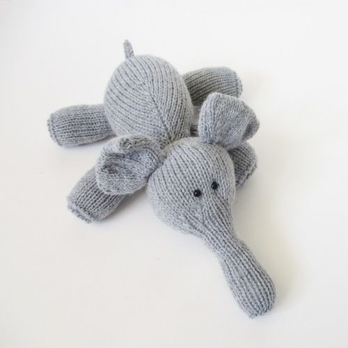 Makerist - Hippo and Elephant - Knitting Showcase - 2