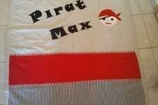 Makerist - Piraten Tages Decke - 1