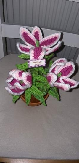 Makerist - Lilie im Blumentopf - 1
