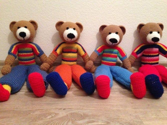 Makerist - Teddys 😊 - Häkelprojekte - 1