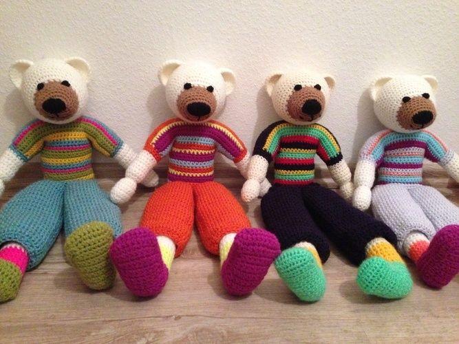 Makerist - Teddys 😊 - Häkelprojekte - 2