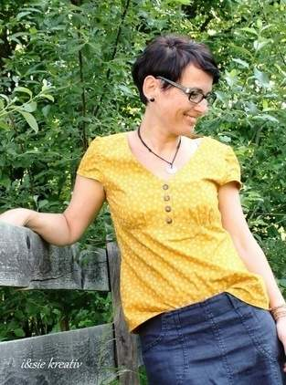 Makerist - Claudine von Schnittmusterlounge aus Baumwollwebware♥ - 1