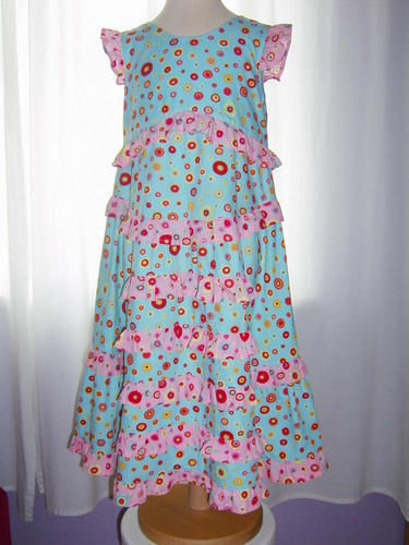 Makerist - Mädchen-Kleid - Nähprojekte - 1