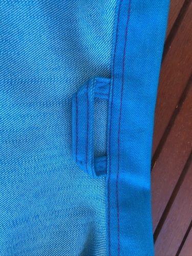 Makerist - Meine Jeansjacke in Türkis - Nähprojekte - 2