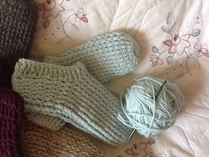 Makerist - Soho Crocheted Socks - Crochet Showcase - 2