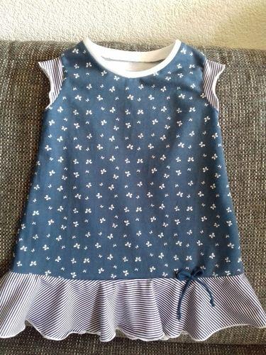 Makerist - süßes Sommerkleidchen aus Jersey - Nähprojekte - 1