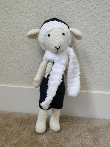 Makerist - Amigurumi – Gédéon le mouton - crochet – tutoriel - Créations de crochet - 1