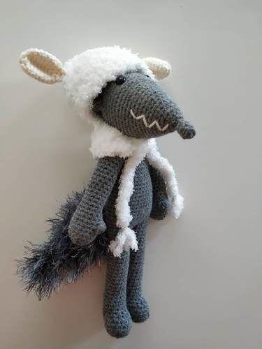 Makerist - Amigurumi – Milou le loup - crochet – tutoriel - Créations de crochet - 1