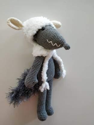 Makerist - Amigurumi – Milou le loup - crochet – tutoriel - 1