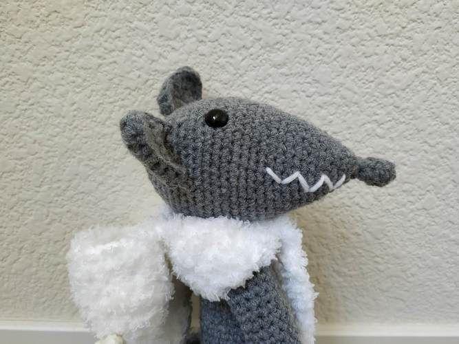 Makerist - Amigurumi – Milou le loup - crochet – tutoriel - Créations de crochet - 2