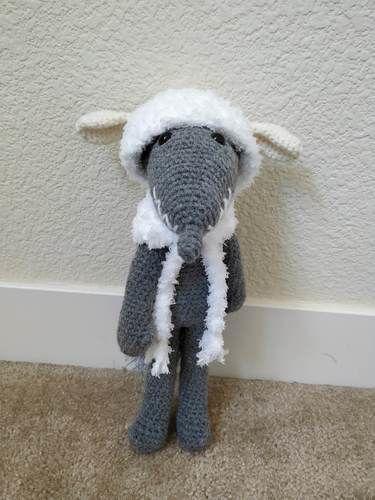 Makerist - Amigurumi – Milou le loup - crochet – tutoriel - Créations de crochet - 3