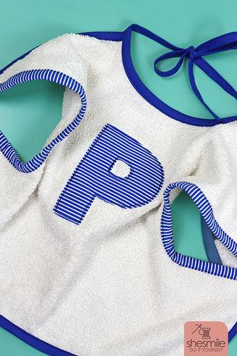 Makerist - Zwei Ärmel-Lätzchen als Geschenk zur Geburt von Zwillingen - Nähprojekte - 3