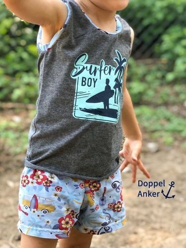 Makerist - Surfer Boy von Alpwind - Textilgestaltung - 1