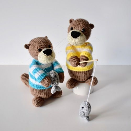 Makerist - Sea Otters - Knitting Showcase - 1