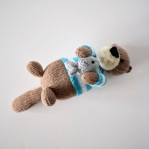 Makerist - Sea Otters - Knitting Showcase - 3