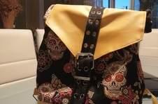 Makerist - Sac à dos oslo simili et tissus assez epais  - 1