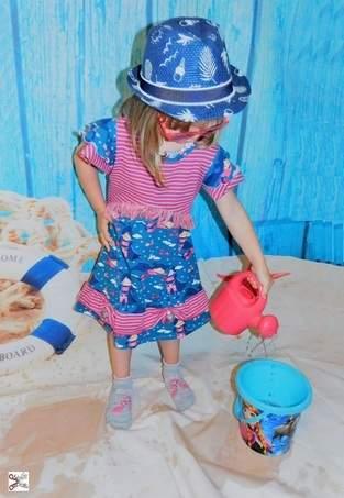 Principessa del giorno.. ein Prinzessinnenkleid für den Sommer, was will Mädchen mehr?