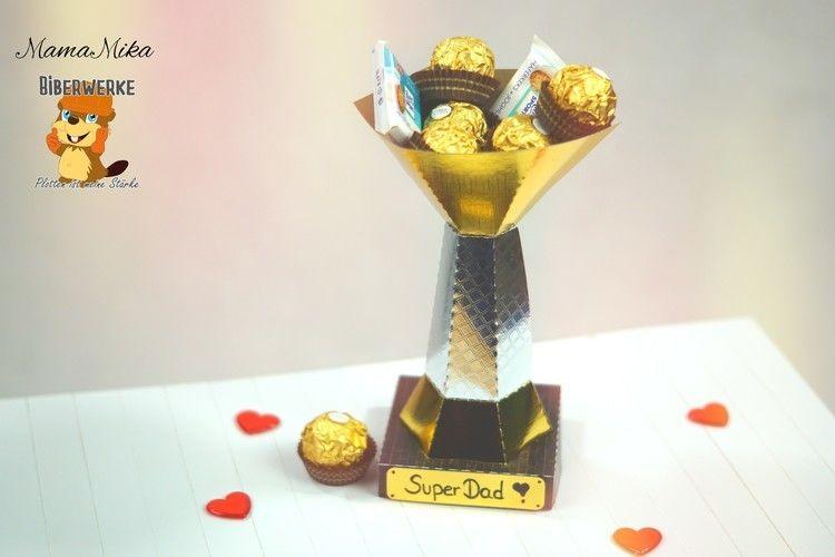 Makerist - Pokal für den Super-Papa - DIY-Projekte - 1
