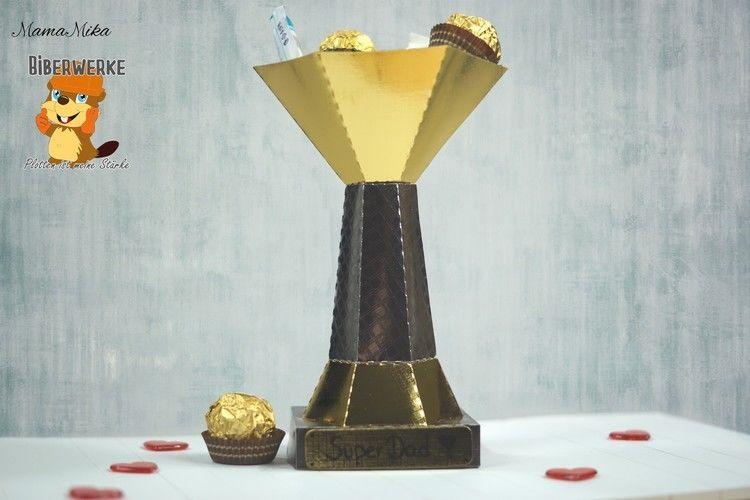 Makerist - Pokal für den Super-Papa - DIY-Projekte - 2