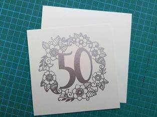 Blumenkranz mit Zahlen von Seehas-Design