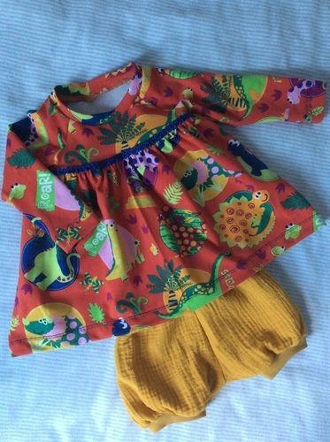 Makerist - Ein Kleidchen für die neue Erdenbürgerin - Nähprojekte - 1