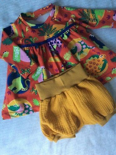 Makerist - Ein Kleidchen für die neue Erdenbürgerin - Nähprojekte - 2