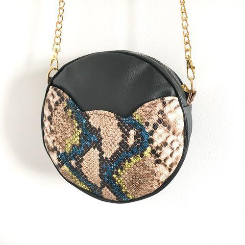 Makerist - Sac rond Sun  - poche chat - Créations de couture - 1