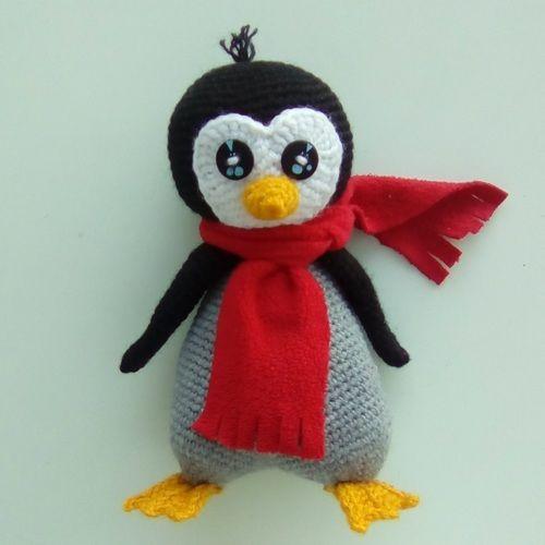 Makerist - Petit pingouin - Créations de crochet - 1