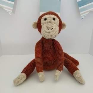 Makerist - Peluche - Mango le singe acrobate - crochet – tutoriel - 1