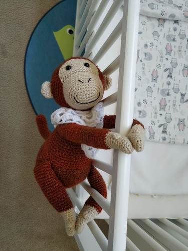Makerist - Peluche - Mango le singe acrobate - crochet – tutoriel - Créations de crochet - 3