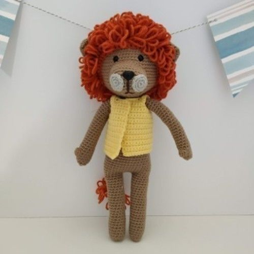 Makerist - Amigurumi – Saroo le lion - crochet – tutoriel - Créations de crochet - 1