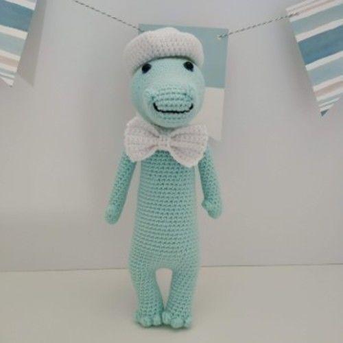 Makerist - Amigurumi – Cyril le crocodile - crochet – tutoriel - Créations de crochet - 1