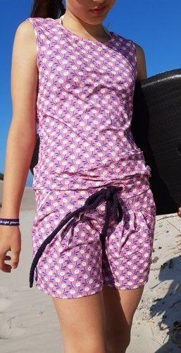 Makerist - Jumpsuit Julika in Kurz für meine Tochter - Nähprojekte - 1