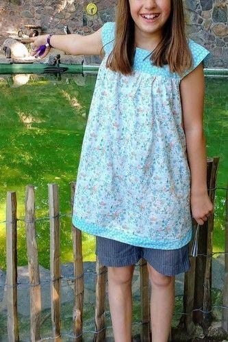 Makerist - Mädesüß Tunika für meine Tochter - Nähprojekte - 3