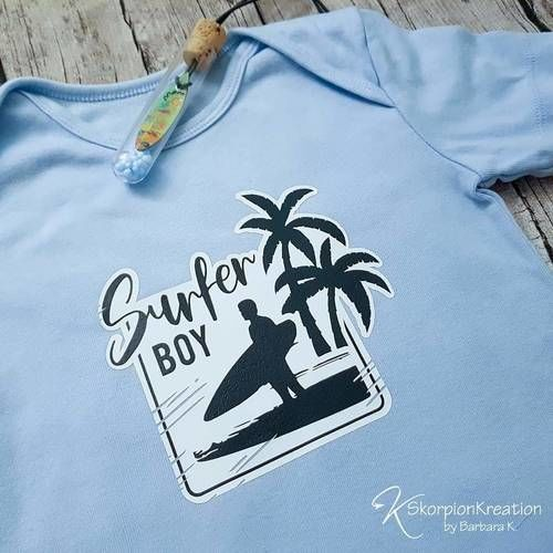 Makerist - Surfer Boy - Textilgestaltung - 1