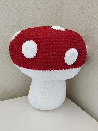 Makerist - Amigurumi - Mushroom - crochet – tutorial - Crochet Showcase - 1