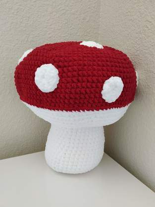 Amigurumi - Mushroom - crochet – tutorial