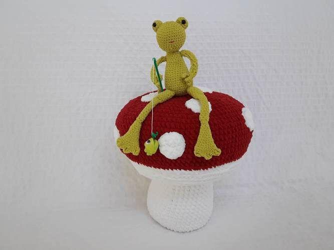 Makerist - Amigurumi - Mushroom - crochet – tutorial - Crochet Showcase - 2