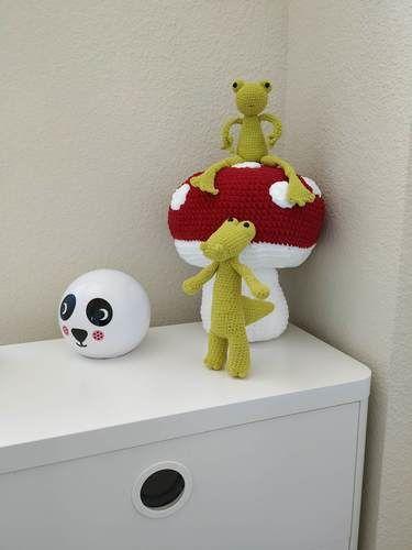 Makerist - Amigurumi - Mushroom - crochet – tutorial - Crochet Showcase - 3