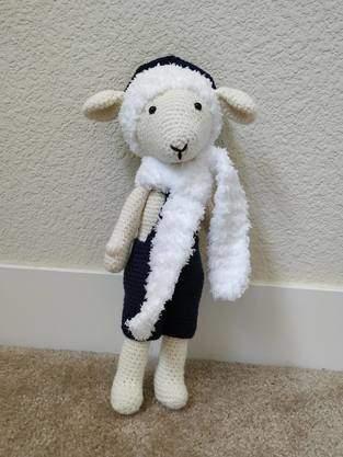 Amigurumi – Philip the sheep - crochet – tutorial