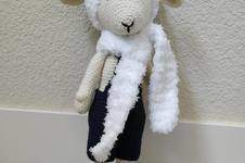 Makerist - Amigurumi – Philip the sheep - crochet – tutorial - 1