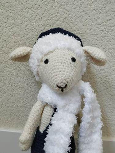 Crochet Sheep PATTERN Amigurumi pdf tutorial LISA the | Etsy | 500x375