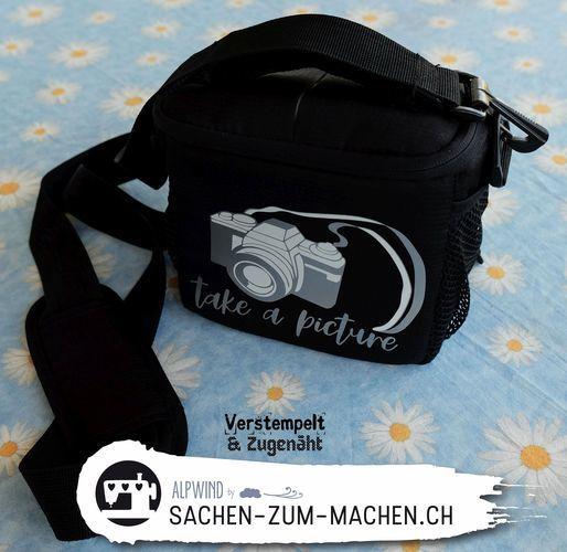 Makerist - Kameratasche und Tasse - Textilgestaltung - 1